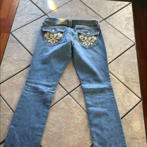 Women's Ana Straight leg Embellished jeans Size 30